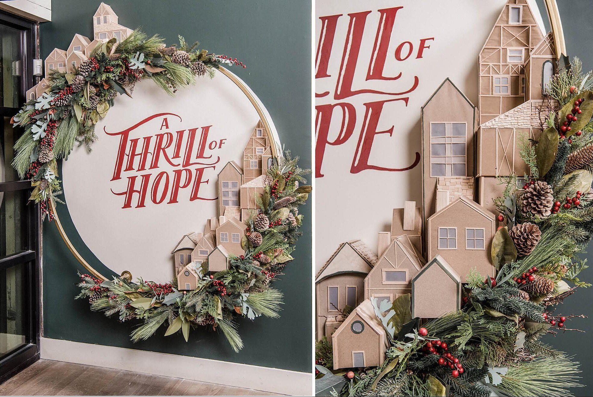 Chip And Joanna Christmas 2020 Joanna Gaines' Magnolia Market Holiday Installation Will Leave You