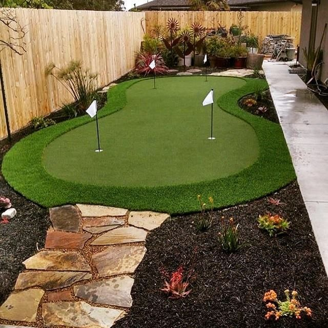 Imagine Golfing In Your Backyard! You Can With SYNLawn