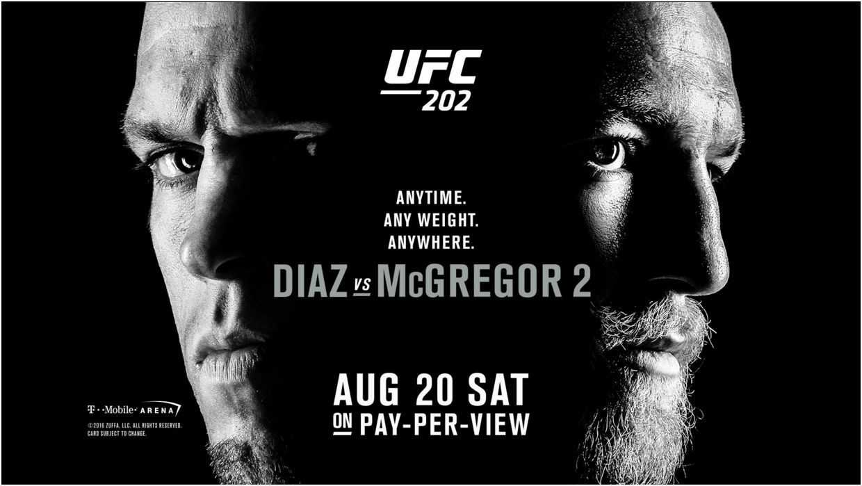 Pin By Venus On Ufc Special Events At Venus Pay Per View Ufc 202 Ufc