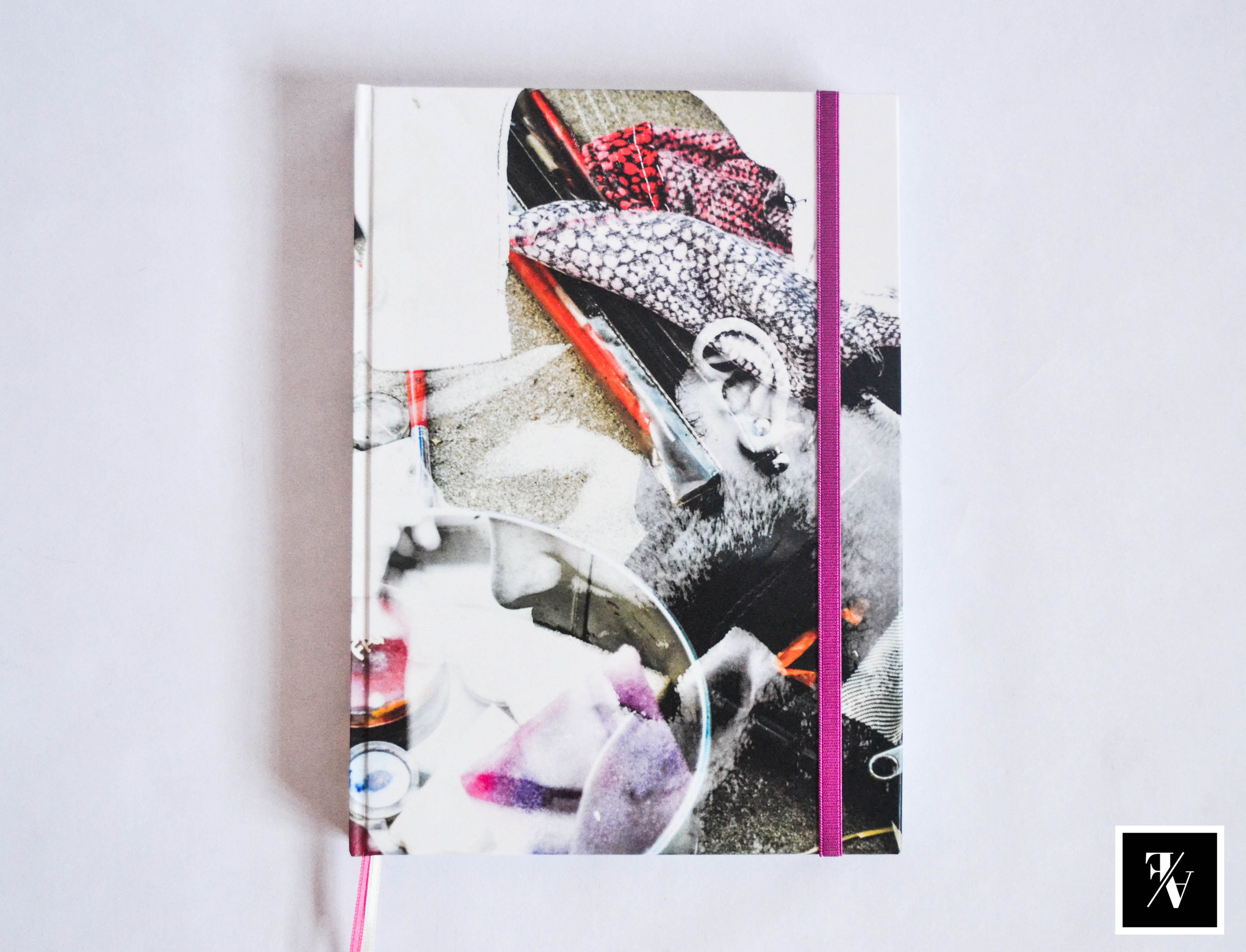 "Cuaderno ""Double"" A5   @Fixioana bookbinding / 100% hecho a mano - 100% hecho con amor   .- www.fixioana.tumblr.com www.facebook.com/fixioanaa"