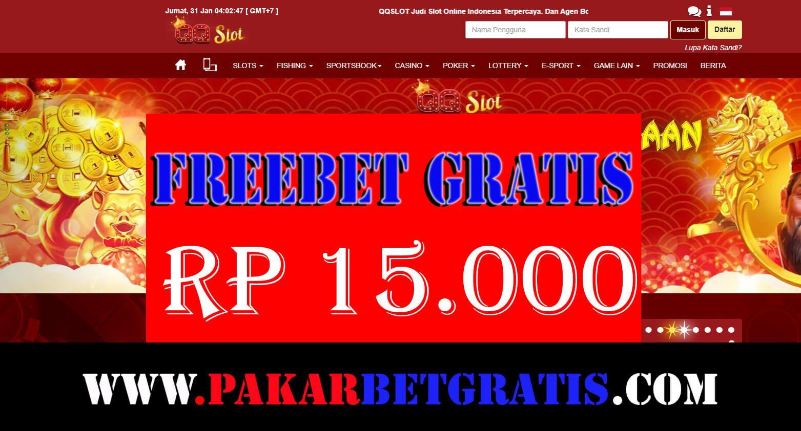 Pin Di Freebet Slot