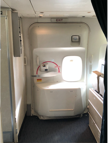 United Airlines 747 Galley and Business Class Door & United Airlines 747 Galley and Business Class Door | United Airlines ...