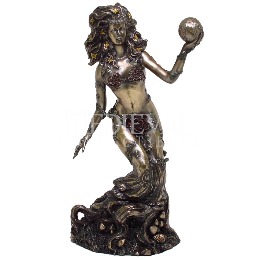 Gaia Goddess Of Earth Statue Cc9101 By Medieval