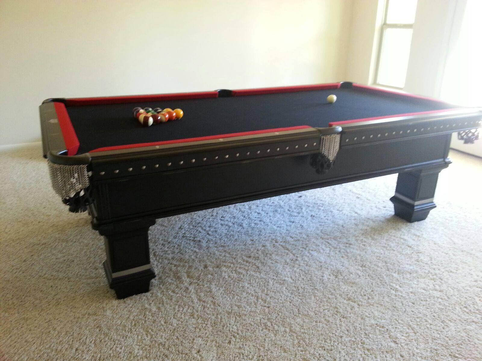 This Legacy Billiards Reaper Pool Table Looks Awesome In Mary Ls - Legacy billiards table