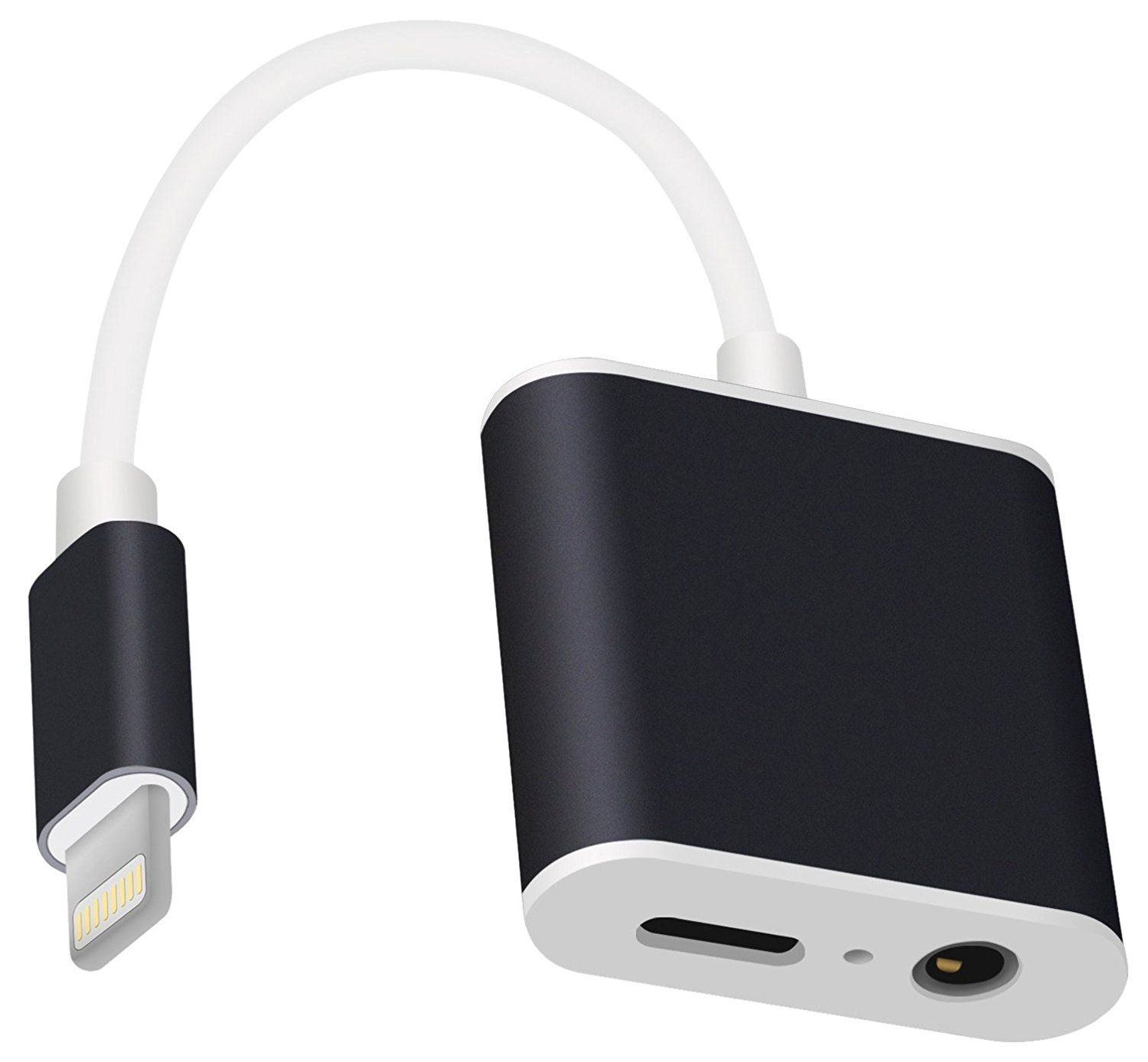 Highever Adapter With Mic Iphone 7 Headphones Adapter With