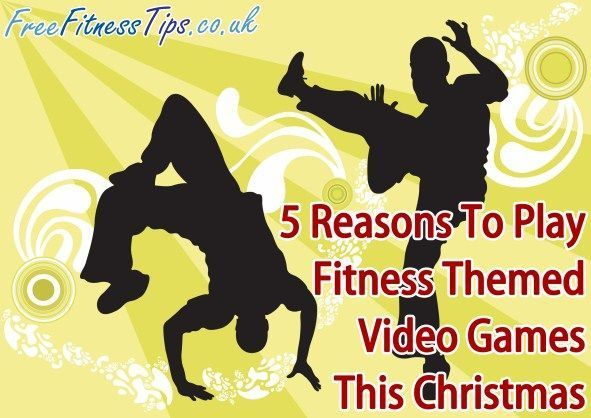 5 Reasons To Play Fitness Themed Video Games This Christmas - Free Fitness Tips 5 Reasons To Play Fi...