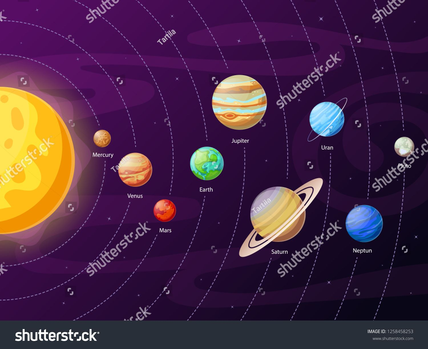 Wallpaper Border Outer Space Solar System Space Shuttle Earth /& Planets Galaxy