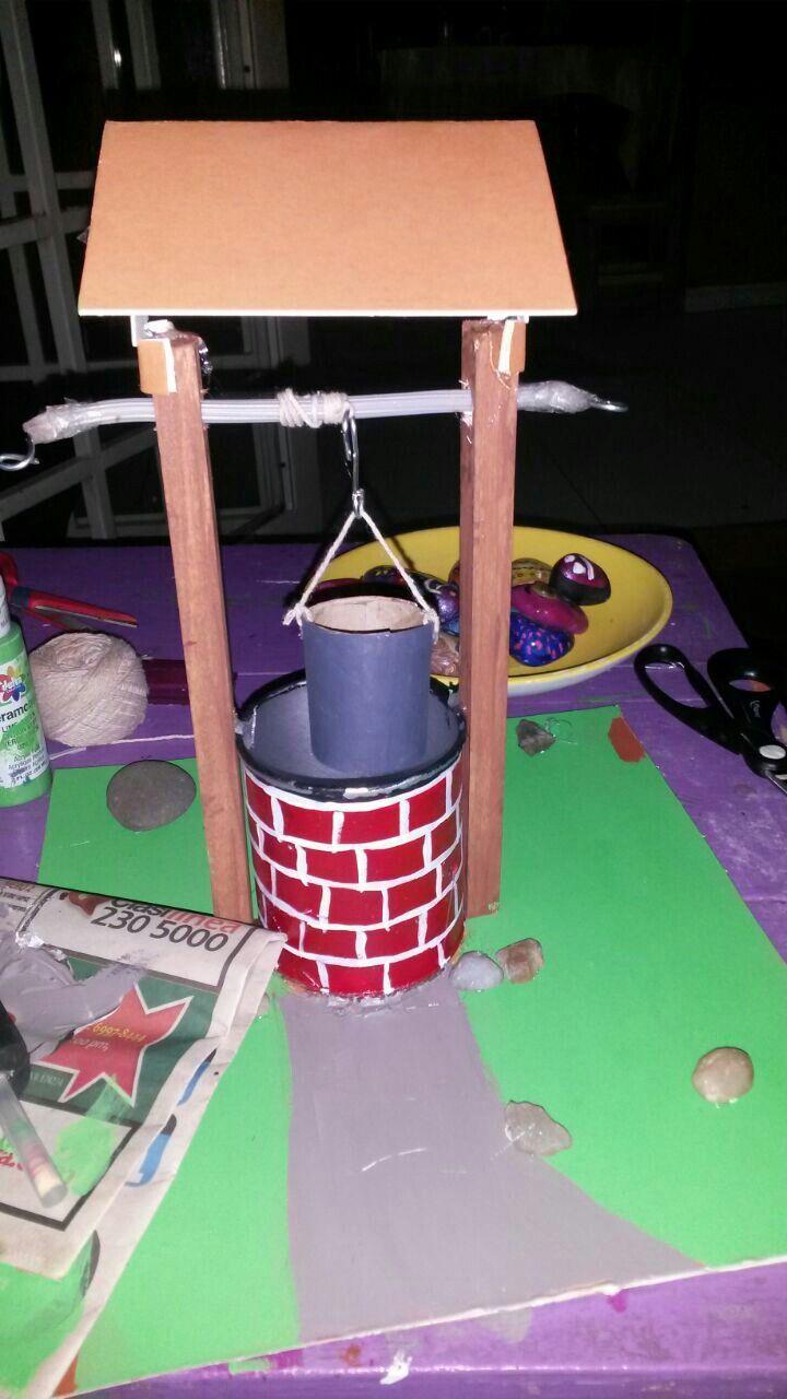 Maquina Simple Con Materiales Reciclables Proyecto De V Grado De Andrea R Castro Johnson Proyectos Reciclables Proyectos Manualidades