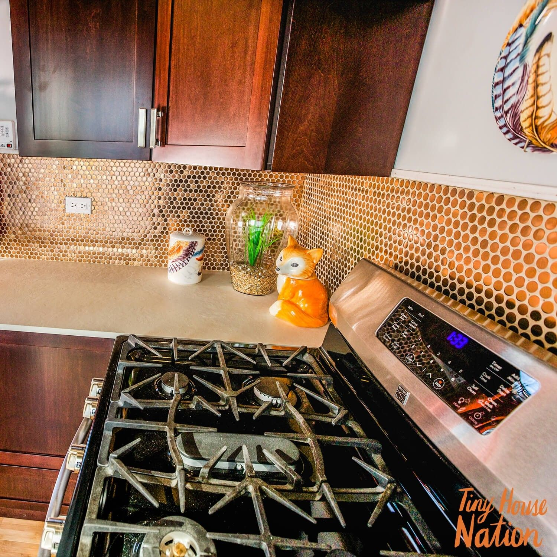 Copper backsplash home sweet home pinterest steel penny