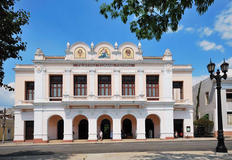 Teatro Tomas Terry A Photo From Cienfuegos West Trekearth Cienfuegos Havana Cuba Prado