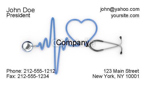 Medical Business Cards  Medical Business CardsBusiness Cards For