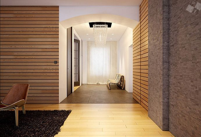 Modern wood clad interior walls stunning london loft house renovation house tours modern