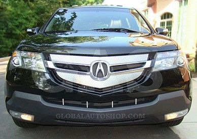 acura mdx chrome grill custom grille grill inserts chrome grilles
