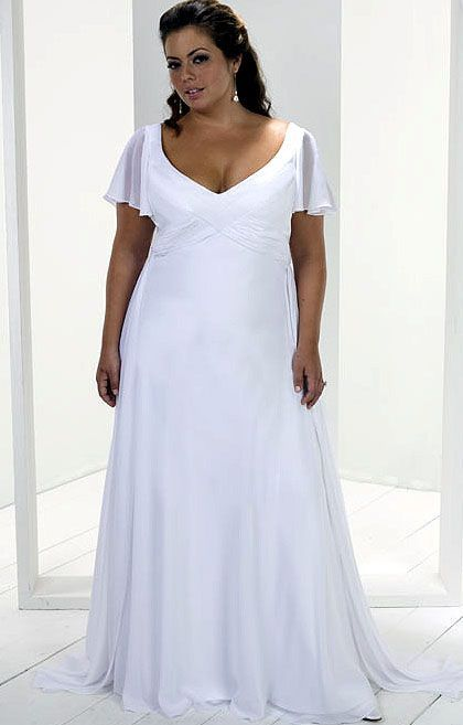 Plus Size Beach Wedding Dresses Kiyafet Gelinlik Giyim
