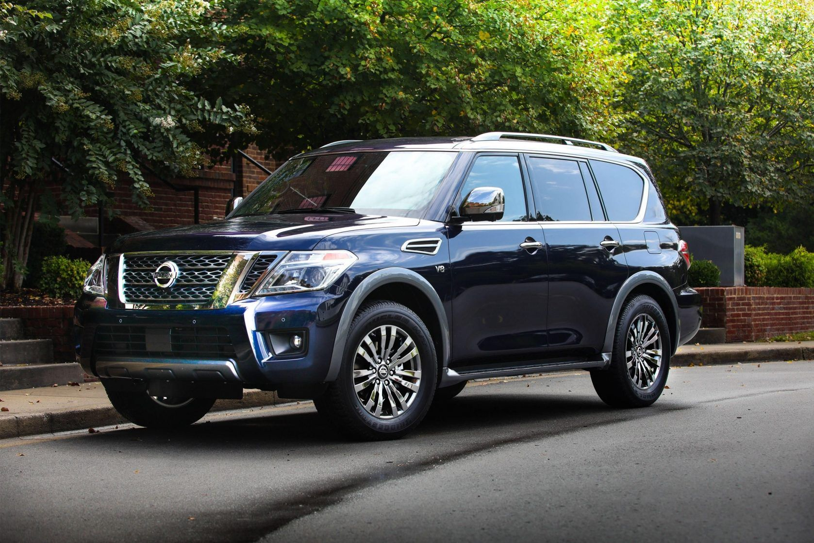 The Upcoming 2020 Nissan Armada Is The New High End Suv That Is Completely Crafted For A Big Household The Last Year Model Has Act Nissan Armada Nissan Armada