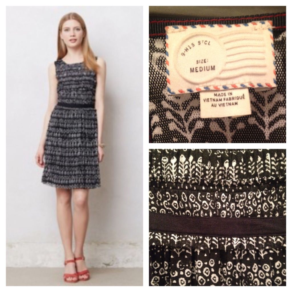 c2e2f7fcb138 Anthropologie Postmark Swiss Dots Dress Size Med | Products ...