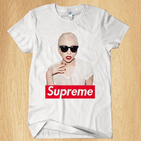 9889039fea22 Lady Gaga Supreme T Shirt Music T Shirt Men T Shirt by Ditakim, $17.97