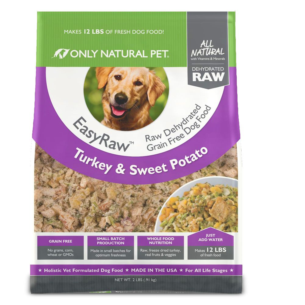 Only Natural Pet Easyraw Dog Food Raw Grain Free Dehydrated