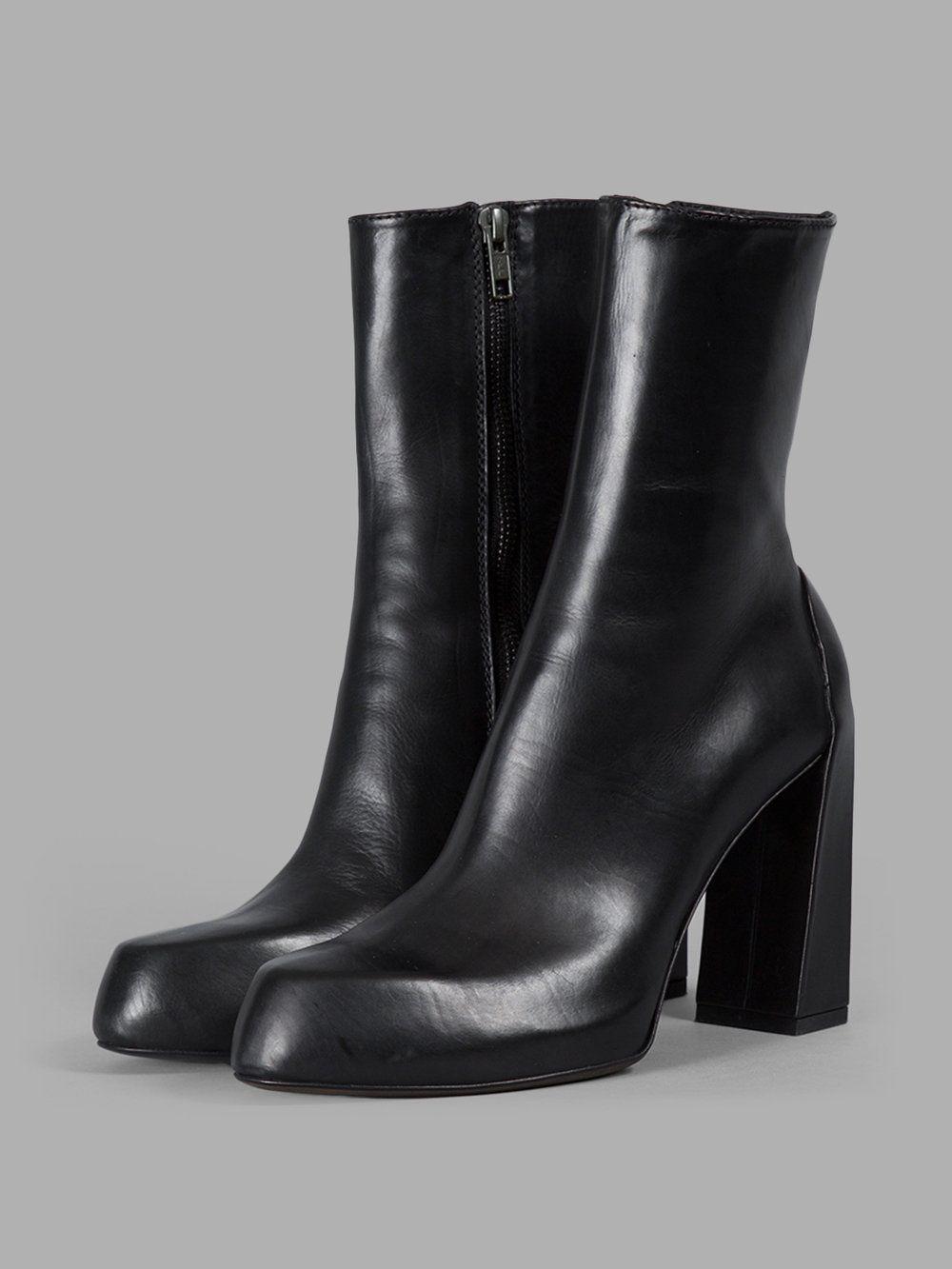 Boots Stuart Weitzman Schwarzes Leder Strapduo Biker Stiefeletten Größe 5,5 Damen Clothing, Shoes & Accessories