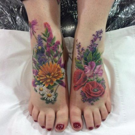 New Tattoo Foot Ideas Inspiration Tat Ideas
