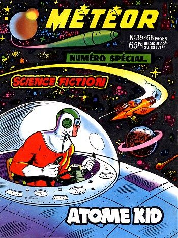 atome kid: French comics