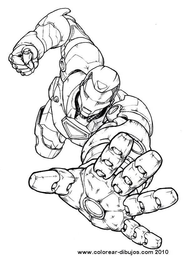 Iron Man Hulkbuster Marvel Coloring Avengers Coloring Pages Coloring Books
