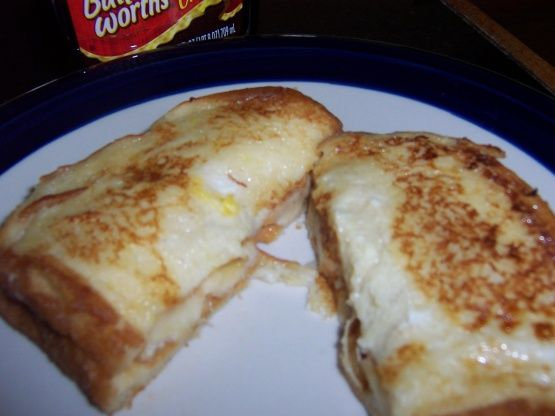 French-toasted Banana Sandwich Recipe - Food.com