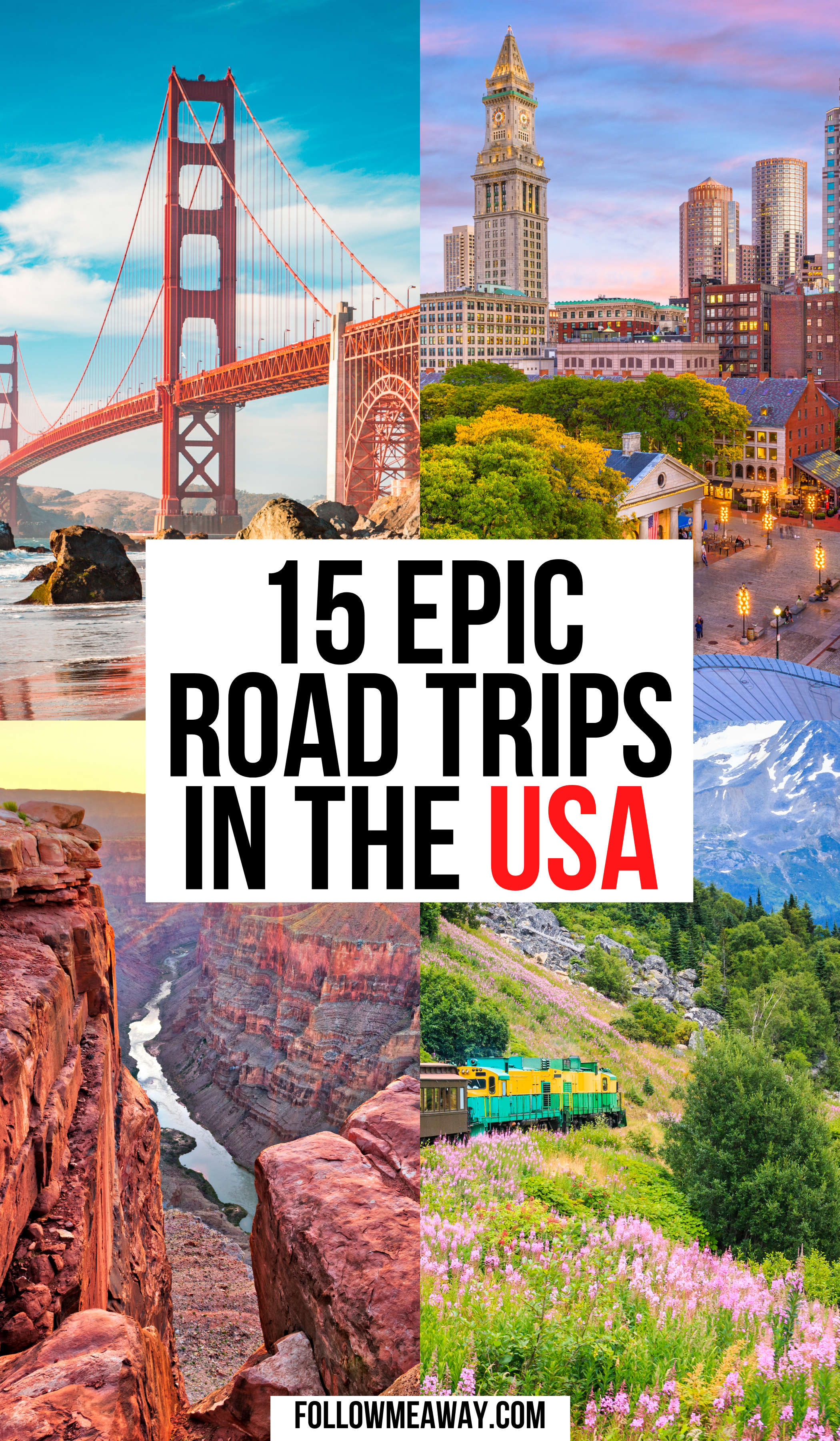 The Best USA Road Trips To Take This Summer | How To Plan The Best USA Road Trip | where to go on your usa road trip | best usa destinations | bucket list locations for the us | united states road trip guide | things to do on your west coast road trip #roadtrip #usaroadtrip