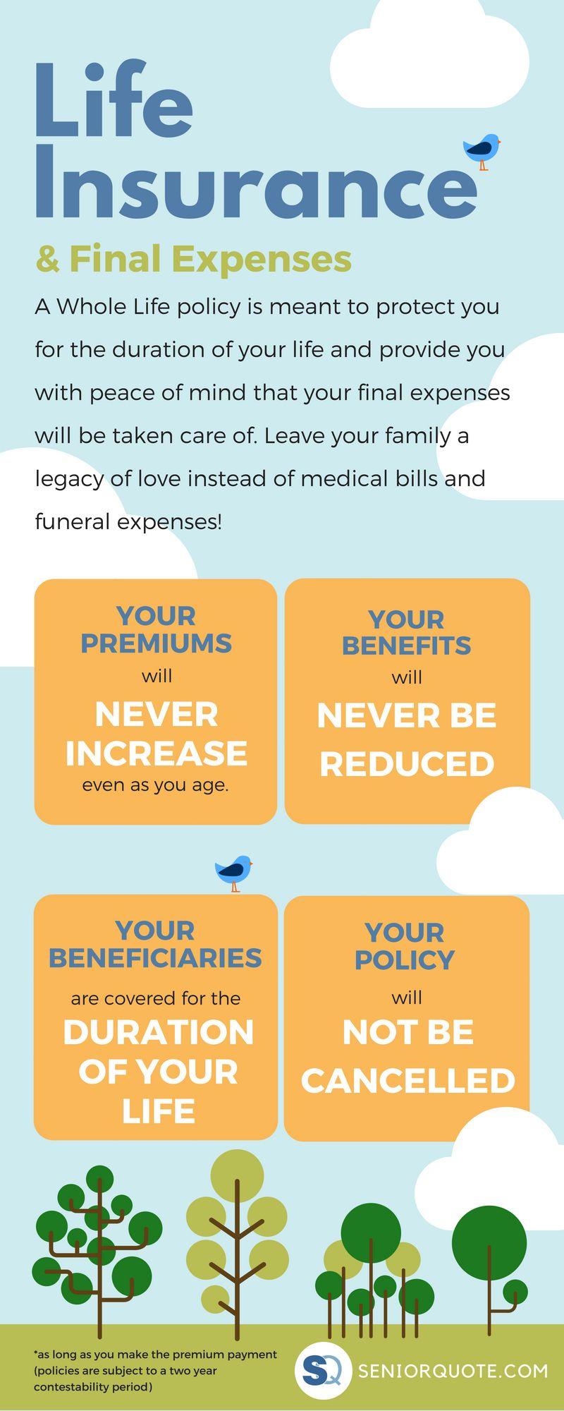 Whole Life Insurance for Seniors Life insurance for
