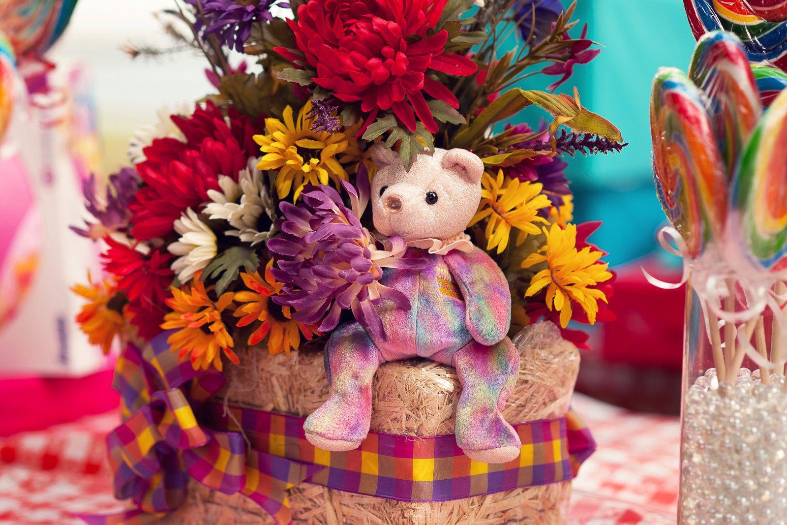 My Daughter\'s Teddy Bear Picnic Birthday Party   Teddy bear party ...