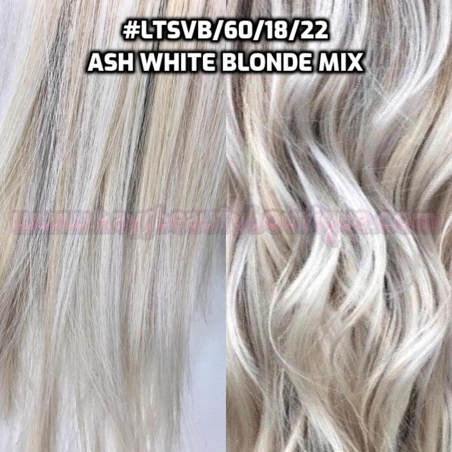 100 Human Hair Halo Ash White Blonde Mix Flip In Halo Style