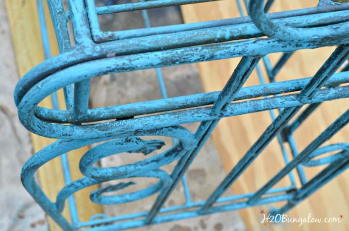 Metal Bakers Rack Makeover With Images
