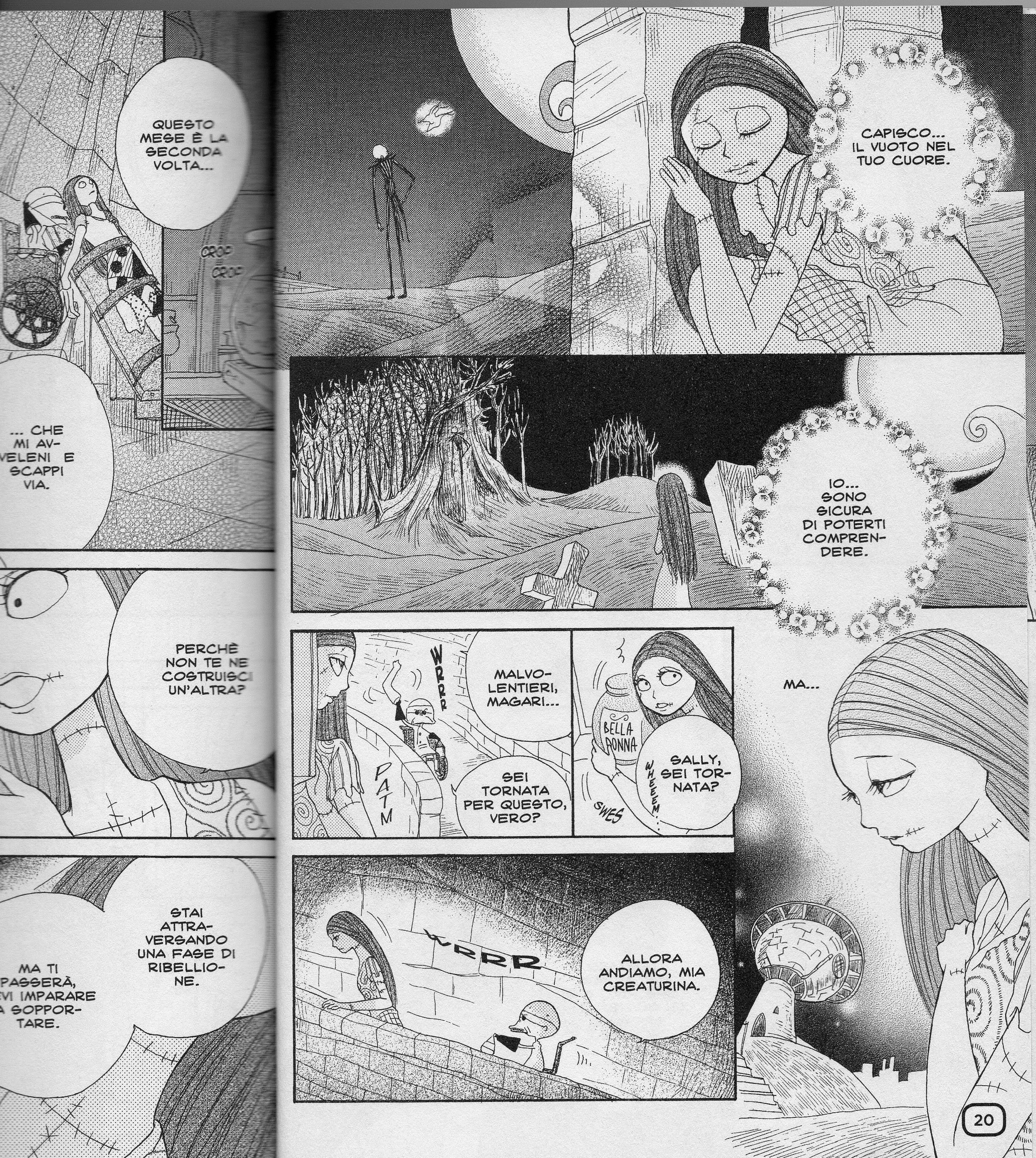 Nightmare before christmas manga ita nightmare before christmas