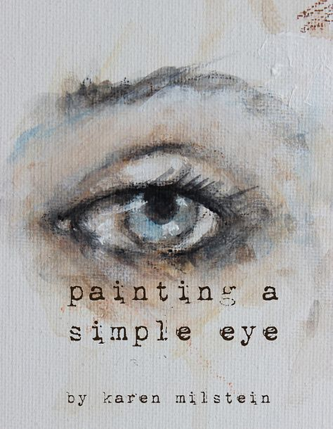 How To Sketch Paint A Simple Eye My New Online Mini Class