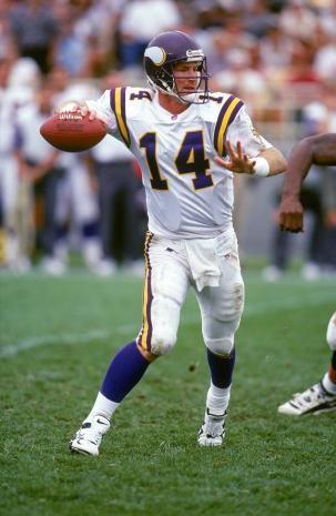 NFL Minnesota Vikings Brad Johnson American Football Shirt Jersey
