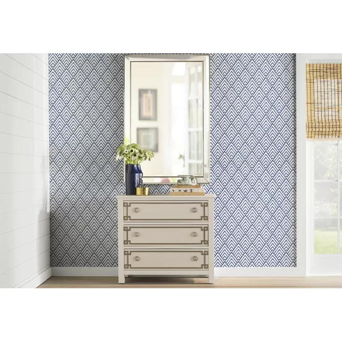 Niebrara 18 X 20 5 Smooth Peel And Stick Wallpaper Roll In 2021 Peel And Stick Wallpaper Herringbone Wall Wallpaper Roll