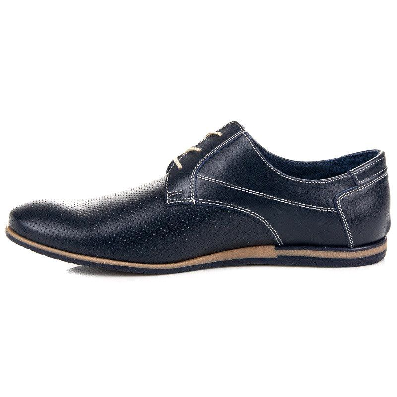 Polbuty Meskie Lucca Niebieskie Azurowe Polbuty Lucca Lucca Dress Shoes Men Chukka Boots Oxford Shoes