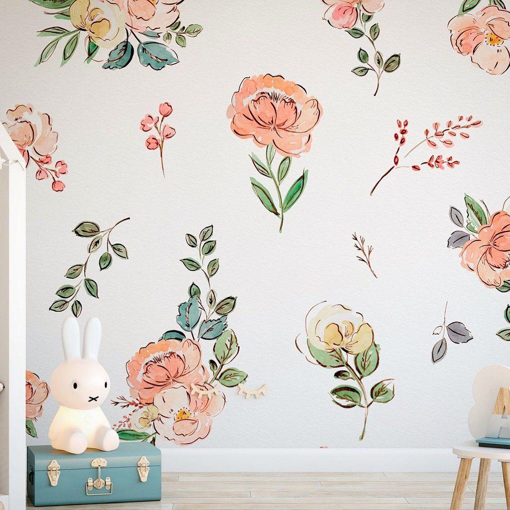 Orange peel wall texture, Blush wallpaper
