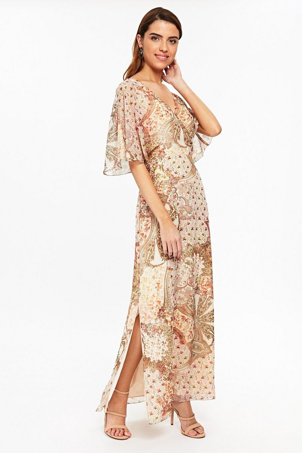 f93e035cbed Go from beach to bar in style with a boho inspired paisley maxi dress