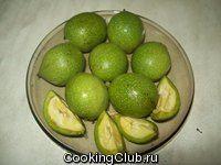 Ликер ореховый - Кулинарный рецепт