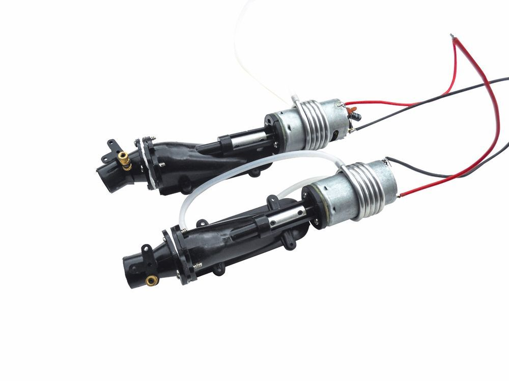 Nqd 757 6024 Rc Boat Turbo Jet Part With Motor And Water Cooling System X 2 Ebay In 2021 Rc Boats Water Cooling Electric Boat