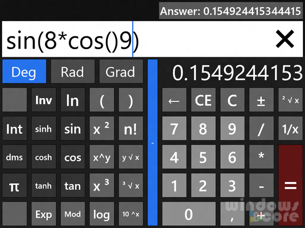 Calc Is The First Ever Metro Calculator App For Windows 8 From Store Calculator App Calculator Calc