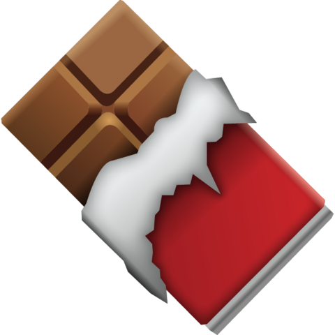 Chocolate Bar Emoji Emoji Wallpaper Iphone Emoji Emoji Wallpaper