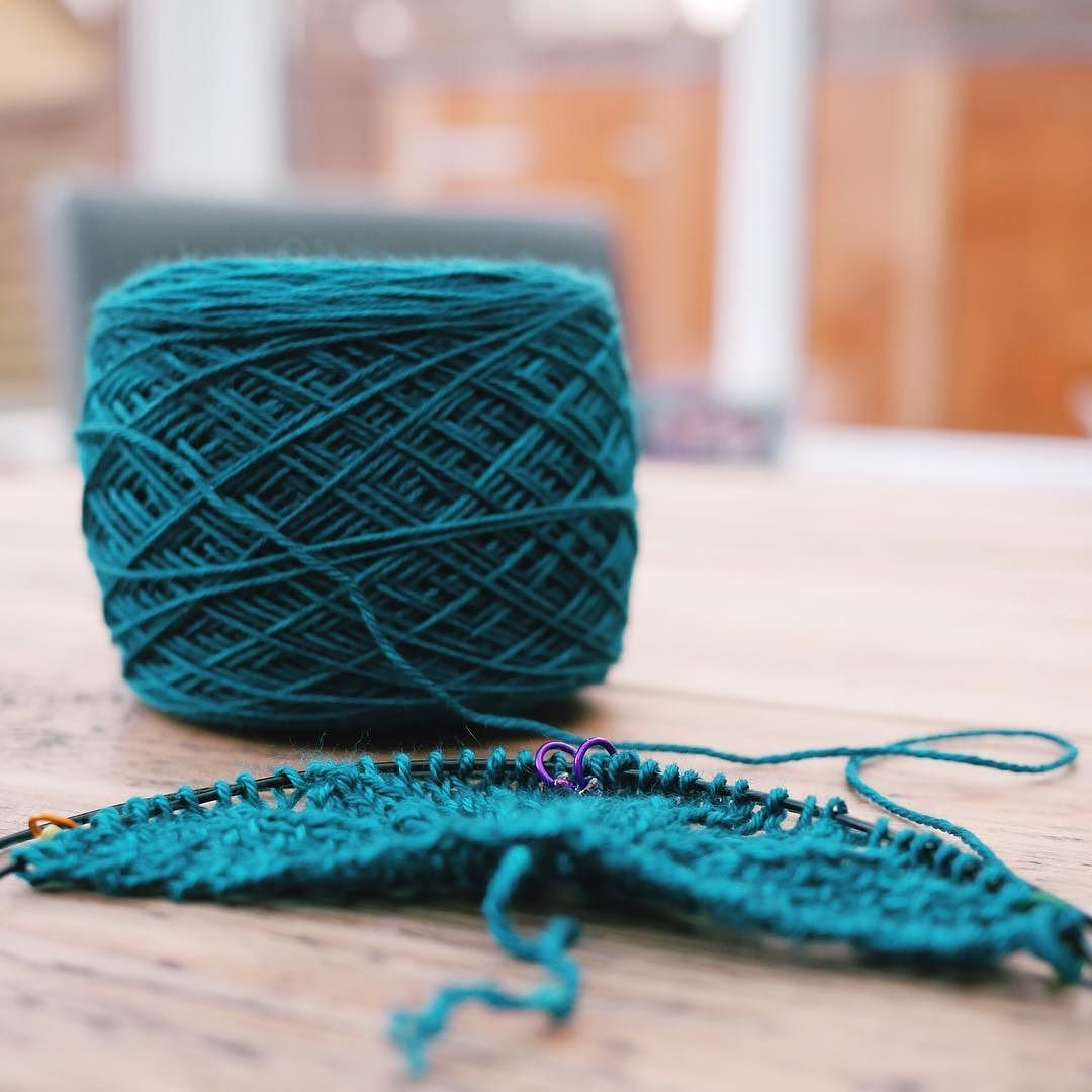 My head is bursting with new design ideas and sometimes it's hard to get them all down on paper. This yarn from Countess Ablaze is absolutely divine and I can't wait to see it grow.