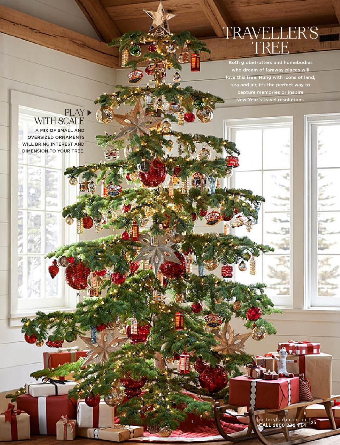 Issuu Pottery Barn Australia Christmas Catalogue 2014 By Williams Sonoma Inc Holiday Decor Christmas Holiday Decor Rustic Christmas
