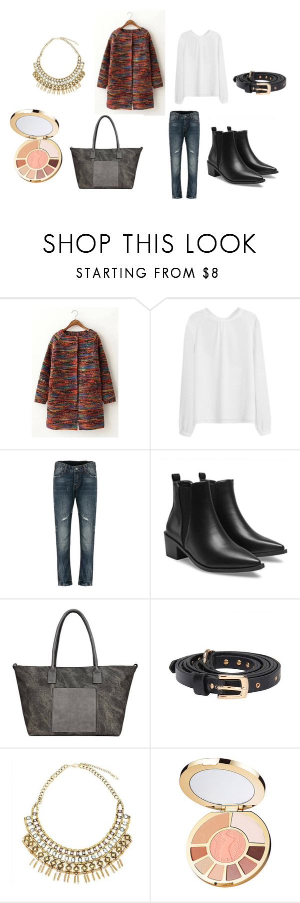 """""""Untitled #7227"""" by allitiner16 ❤ liked on Polyvore featuring tarte"""