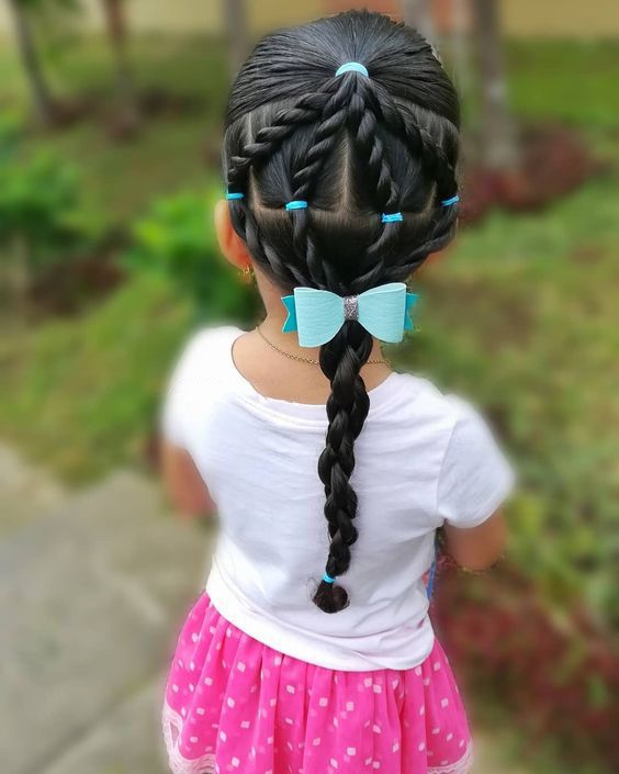 60+ Sweet And Lovely Children&039;S Braided Hairstyles You Will Like - Page 43 Of 69 - Lialip - Hair Beauty