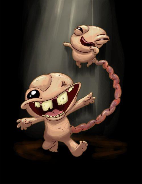 Beapeabear Gemini From Binding Of Isaac Adorable Little The Binding Of Isaac Isaac Darkest Dungeon