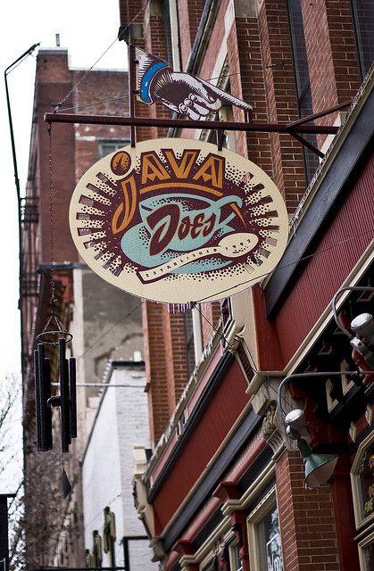 Java Joes Des Moines Iowa Des Moines Storefront Signs