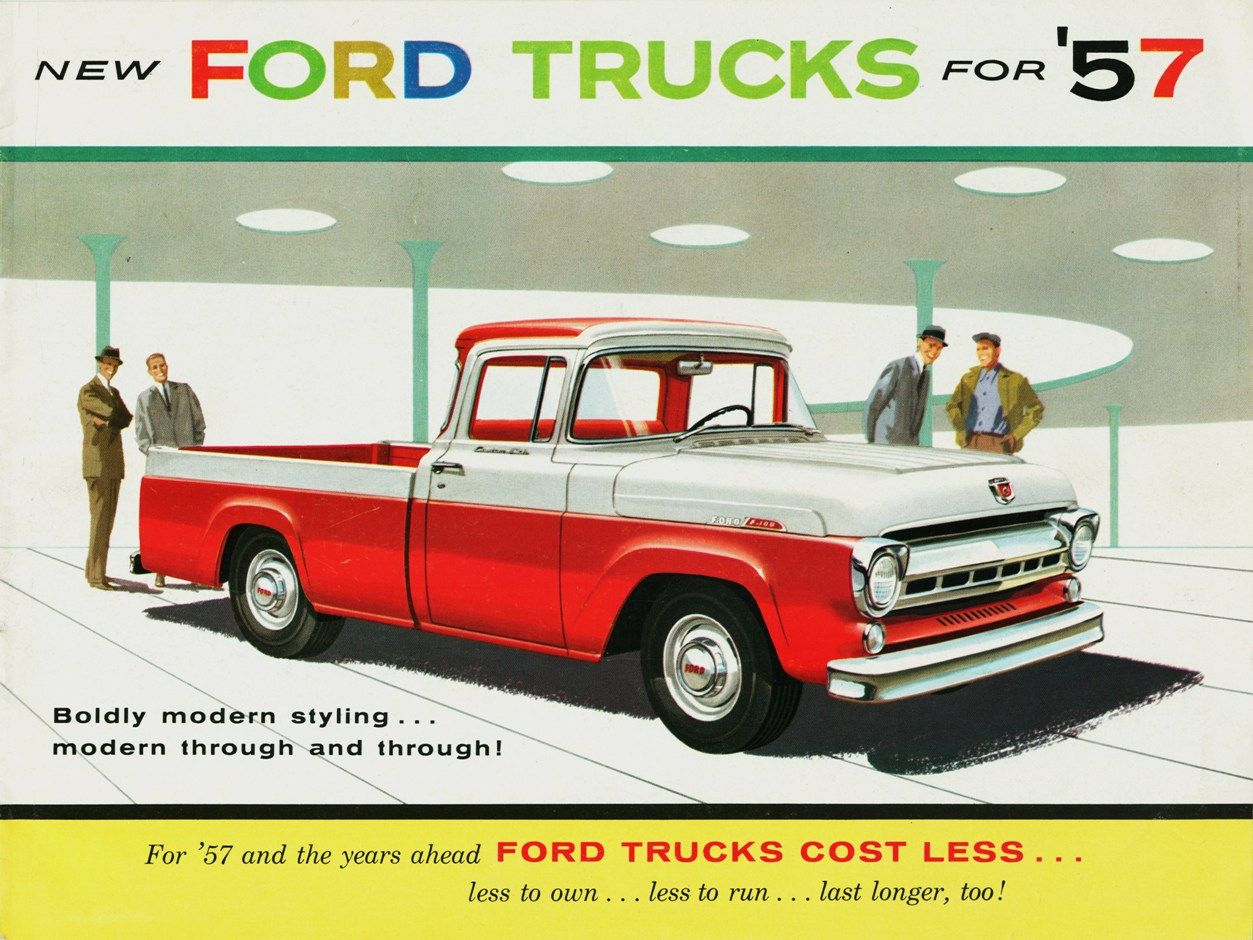 All sizes 1957 ford f 100 styleside pickup flickr photo sharing